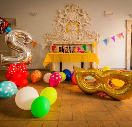 Organizza la tua festa a Palazzo Pierantoni!